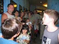 Debrecenben kezelt gyermekek kirándulása a Tropicariumban