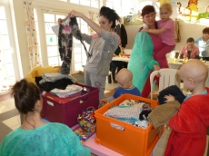 Kézműves foglalkozás Debrecenben a Gyermek Hematológián
