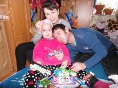 Eljutottak a beteg gyermekekhez a szeretet ajándékai
