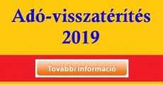 2019 adóvisszatérités 2018