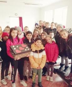 A Barcsi Deák Ferenc Általános Iskola 4.osztályos tanulói