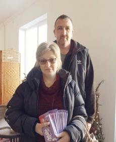 Czipóthné Balatonyi Beáta férjével csatlakozott