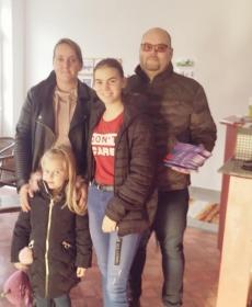 Hartmann Jancsi és családja
