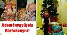 Karácsonyi ajándékozás, adományok átadása